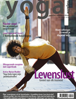 Voorblad Yoga Magazine Wintereditie 2012
